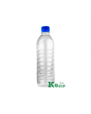 160PCS 500ML BOTTLE W/CAP BLUE