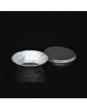 200'S ALUMINUM FOIL ROUND TRAY 190 W/LID