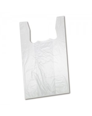"#75 50PCS x 5PKT 24"" x 28"" SING.BAG -WHITE"