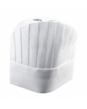 25CM WHITE CHEF HAT