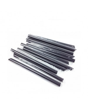 4000'S 12 x 210MM BLACK INDIVIDUAL SHARP STRAW