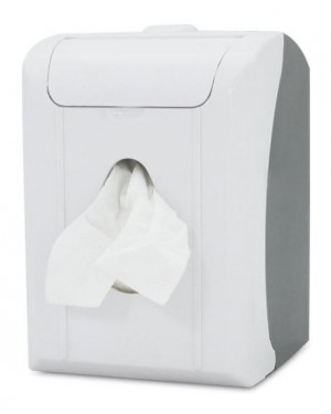 WHITE COLOR POP UP DISPENSER