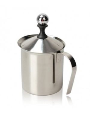 800ML S/S DBL MESH MILK FROTHER