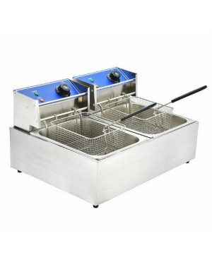 10L DOUBLE ELECTRIC FRYER