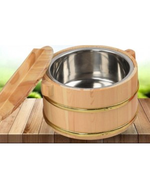 24CM BAMBOO RICE CONTAINER