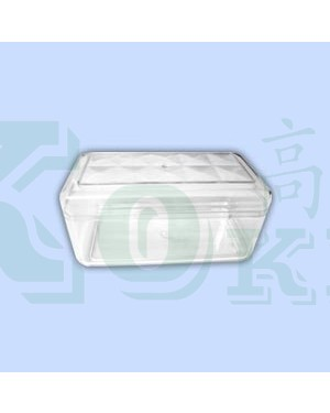 36PCS 2705 RECT. PS CONTAINER