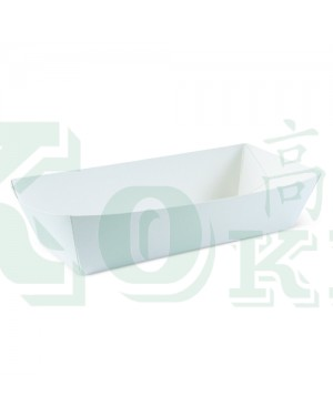 800'S PLAIN PAPER COATED BOAT TRAY