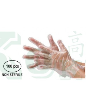 100'S CPE DISPOSABLE GLOVES M