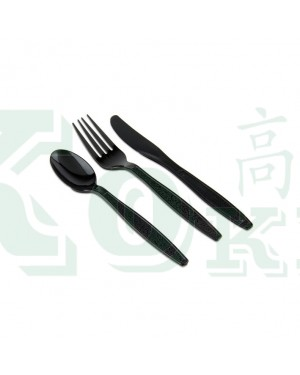 "50'S 7"" BLACK PARTY FORK"