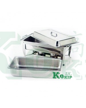 "2"" & 2.5"" Stainless Steel Full Size Chafing Dish (1set)"