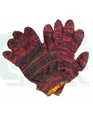 12PAIR 1200 KNITTED COTTON GLOVE