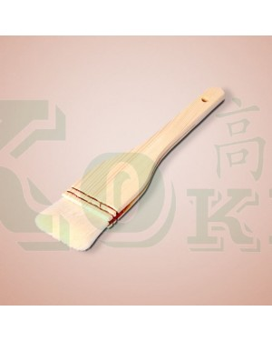 """2"""" WOOD HDL. WOOL PASTRY BRUSH"""